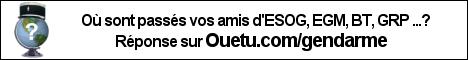 Ouetu.com/gendarme, retrouver collègues boulot BT gendarmerie écoles mutations amis escadrons
